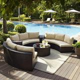 Innen-/im Freiengarten-Patio-Möbel-Ecken-rundes Kombinations-Sofa-Set der neuen Art-2017