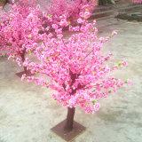 De mooie Boom van de Bloesem van de Perzik van het Huwelijk van 100cm Kunstmatige met Roze Bloem