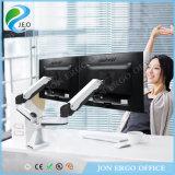 Canalización vertical ajustable del monitor del corchete del monitor del brazo del monitor del ordenador de la PC de la altura Ys-Ga24fu de Jeo