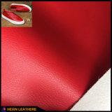Zacht Leer Microfiber voor Schoenen die hx-M1712 maken