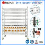 NSF-justierbare Hochleistungshandels500lbs metalldraht-Brot-Zahnstange