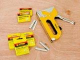 Ferramentas de rebitagem de mão DIY: arma de rebitador de mão dupla com cabo tubular