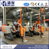 Plate-forme de forage de extraction pneumatique hydraulique de la chenille DTH de vente (HFG-54)