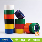 Cinta adhesiva verde del embalaje del color BOPP para el lacre del rectángulo