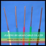 8AWG el conductor de cobre 450/750V BV cablegrafía