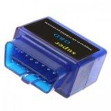 L'adaptateur diagnostique automatique OBD du scanner Elm327 Bluetooth d'OEM Elm327 V1.5 pour la surface adjacente Elm327 androïde supporte tous les protocoles d'Obdii