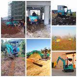 Excavatrice 2017 petite 1.5t d'excavatrice neuve à vendre