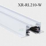 Longeron en aluminium de piste enfoncé par nécessaire de la piste DEL d'éclairage (XR-RL210)