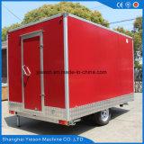 台所装置の移動式食糧トラックのトレーラー