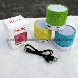 Mini altavoz de Bluetooth LED de la alta calidad con insignia impreso (572)