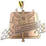 昇進のためのカスタマイズされた亜鉛合金メダル(xd-52)
