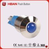 セリウムのRoHS 8mm 10mm 12mm LEDのシグナルランプまたは表示燈または試験ランプかシグナルライト