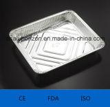 Bandeja conveniente y para llevar del papel de aluminio