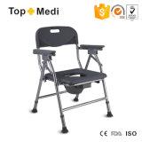 Cadeira de pouco peso do Commode de Prodcut da saúde da segurança do banheiro com bacio plástico
