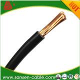 H05V-K 300/500V 0.75mm2 schwarzer Schweißens-Cable/PVC flexibler Isolierdraht