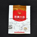La poche comique de tirette d'impression de Customzied 3 couches a feuilleté le sachet en plastique droit pour le module de nourriture avec le sachet en plastique comique de tirette