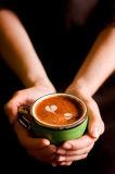 Nicht Molkereirahmtopf für Kaffee-Gehilfen