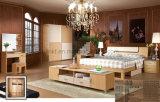 2016 가장 새로운 유럽식 호화스러운 가죽 정연한 침대는 놓는다 (UL-LF022)