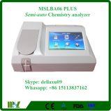 Analizador semi auto de la bioquímica con la buena calidad Mslba06plus