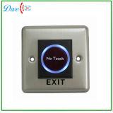 Interruptor de botón de pulsación de la placa de salida de tacto 24V