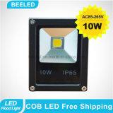 방수 IP65 램프 10W 옥외 LED 플러드 빛