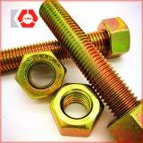 ASTM A193 Gr. B7 / A194 Gr. 2h Boulon bout à bout avec noix hexagonales