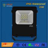 luz de inundação ao ar livre do diodo emissor de luz de 2700-6500k 20W