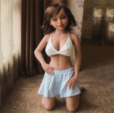 Малая кукла влюбленности куклы 118cm секса силикона груди для людей