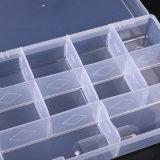 Caja de pastillas de plástico caja de la medicina píldora dispensador