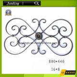 鉄のゲート及び鉄の柵のための装飾用の錬鉄スクロールパネル