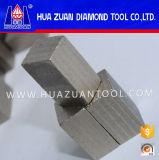 El segmento del diamante para grande consideró la lámina para el granito del corte