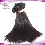 工場毛のもつれの自由なマレーシアの膚触りがよくまっすぐな織り方の毛