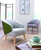 Mobiliario de sala de estar Diseño de tela moderna Silla de ocio S6067