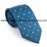 (F28-F34) Soie tissée classique, la cravate des hommes de cravate de polyester