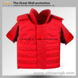Nij III / IV Kevlar Red Full-Protection Tactical Bulletproof Vest