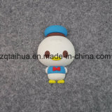 Qualität Kurbelgehäuse-Belüftung reizendes Keychain (TH-PVC9172)