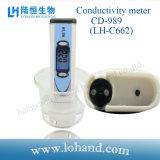 Probador de la conductividad de Digitaces del acuario del laboratorio con la pantalla retroiluminada (CD-989)
