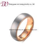 Ebay 최신 새로운 로즈 금 보석 텅스텐 반지