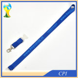 Blue Logo Blue Lanyard with Foggy White Buckle Release