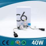 Scheinwerfer der Cer-wasserdichter Leistungs-40W 4500lm H1 H7 H4 9005 des Auto-LED mit Ventilatoren