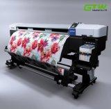 papel de transferencia seco rápido de la sublimación 100GSM de los 2.4m*100m para la impresora de Epson
