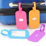 Neuer Koffer-Gepäck-Marken-Adressen-Halter-Silikon-Kennung-Kennsatz