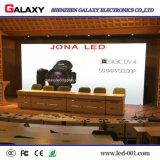 Pared video de interior fija de la visualización de LED P2/P2.5/P3/P4/P5/P6 para el departamento, publicidad constructiva