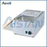 Eh2a Table Top 2 Pots Chauffe-eau électrique en acier inoxydable Bain Marie