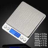 3kg-0.1g高品質LCDの表示の台所スケール