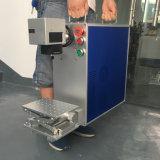 極度のレーザーヘッドが付いている携帯用ファイバーレーザーの金属のマーキング機械