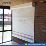 Aluminium Rolling Up Shutter Windows with Motor