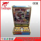 Máquina de jogo a fichas do jogo dos adultos, máquina de entalhe da arcada