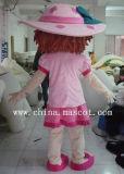 Costume rosso della mascotte della frutta del costume della mascotte di serie della fragola