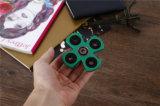 Verlicht het Exclusieve Ontwerp van de Spanning het Stille Vlotte Plastiek van de Staaf van de Vierling het Speelgoed van de Spinner van de Hand friemelt